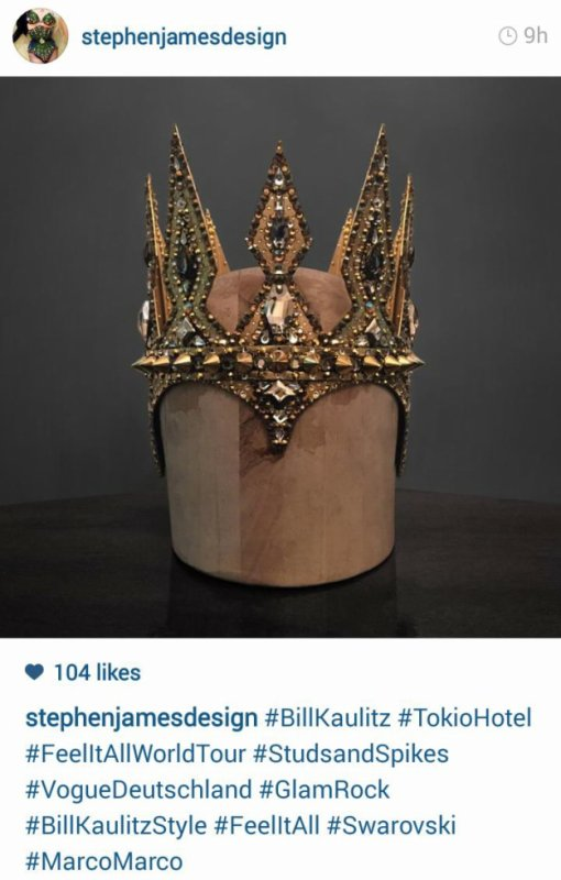 photo de la couronne de Bill sur feel it all tour