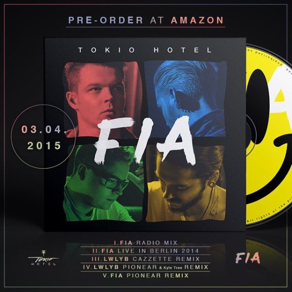 Bill instagram : pré-commande dès aujourd'hui notre #feelitallEP sur Amazon ou iTunes.    pre order our #feelitallEP today on Amazon and iTunes