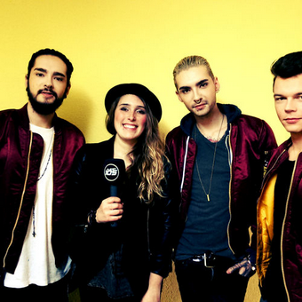 Planète 105 - Entretien avec Tokio Hotel