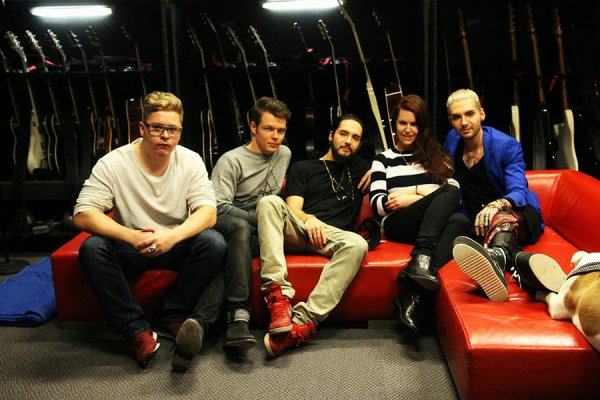 [NEW PICS] Tokio Hotel Backstage Shooting for AMY&PINK Interview [Berlin, Germany - 24.02.2015]