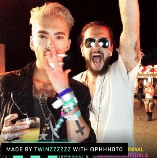 """Bill instagram : """"Aaaaaaaaahhhhhhhhhh! Neon Carnival!"""""""