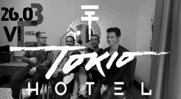 Tokio Hotel Exclusive Interview FULL versionInterview for Sztar Busz [Vienna - 26.03.2015]