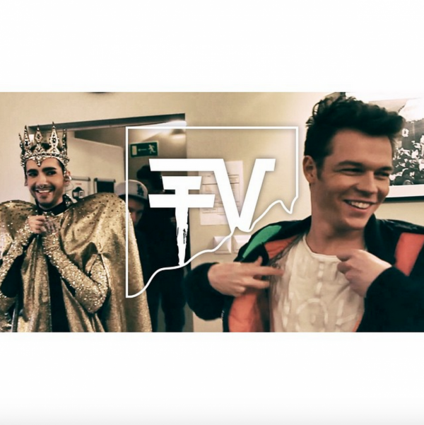 "tokio hotel instagram : Tokio Hotel Instagram 166 [23.04.2015] - ""Boys will be boys - Outtakes! New THTV episode online!"""