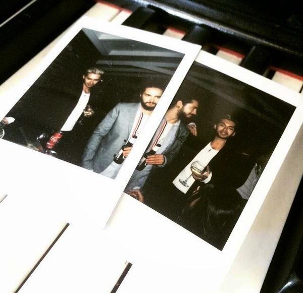 [NEW PICS] Bill & Tom Kaulitz at Ugo Cacciatori's Birthday Party - Hollywood, CA [25.04.2015]