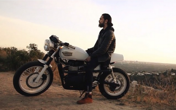 Georg instagram : The secret son of anarchy? Watch the full new episode of #tokiohotelTV on our youtube channel! Great job @tomkaulitz & @erikbergamini #SOA #needabikeaswell