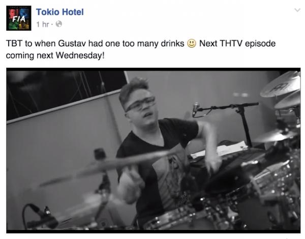 tokio hotel facebook :