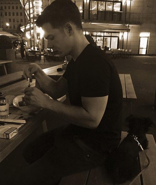Georg instagram : le temps du diner ! dinner time !