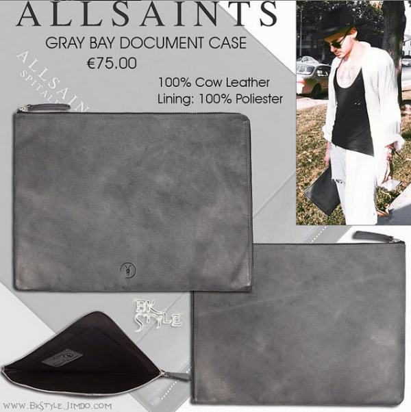 Bill style : Document Case by All Saints [14.06.2015]