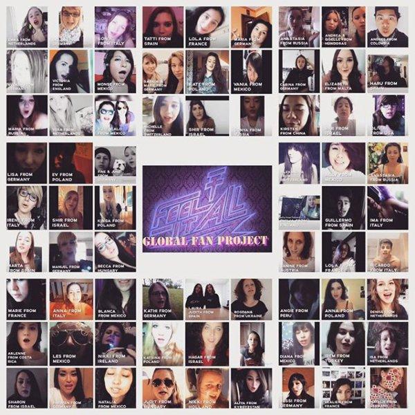 Georg instagram : Merci à tous ceux qui ont participé et réalisé ce projet !!!  #TokioHotelGlobalFanProject #aliens #amazing #loveit #thatswhyyouarethebest