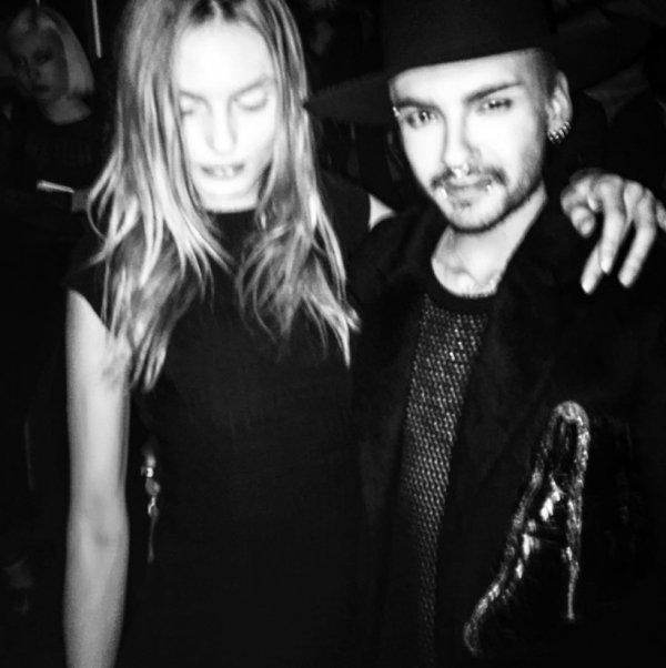 Novembre 24, 2015 Los Angeles  - Bill Kaulitz & Andrej Pejic