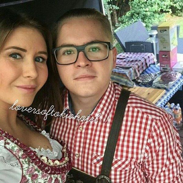 Gustav et son épouse Linda !!