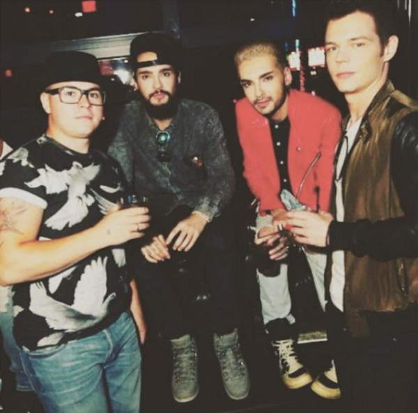 "tokio hotel instagram : ""Throwback Vegas..."""