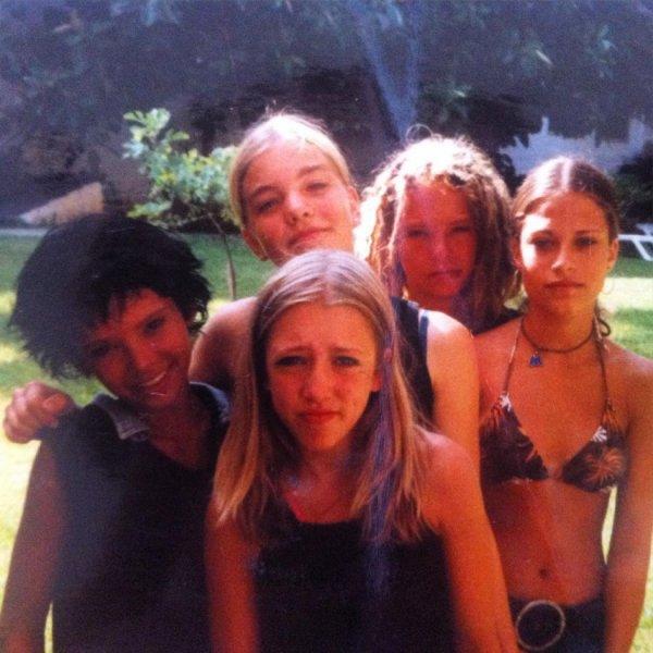 Bill et Tom avec des filles de Magdebourg en 2003