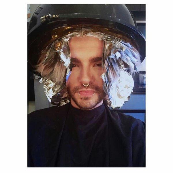 Bill instagram : Une vraie #têtedalien avec @hairby_alizabeth aujourd'hui! #décoloration