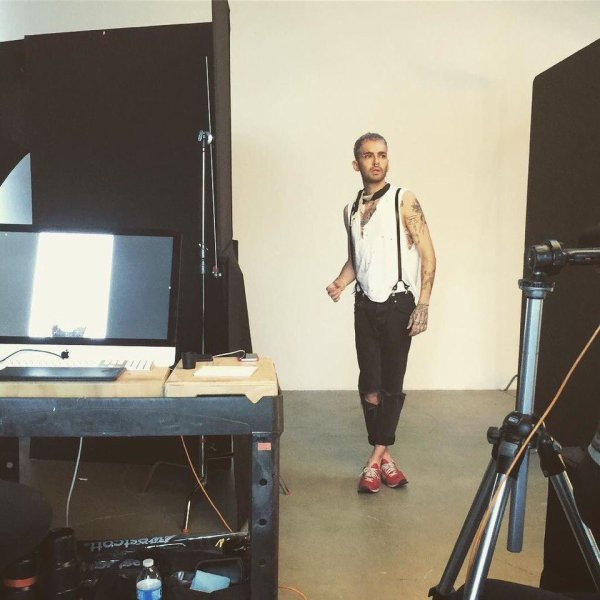 billkaulitztoday #covershoot #tokiohotel #dreammachine