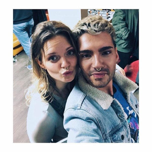 Bill instagram : you were so great last night @tovelo 🚀❤