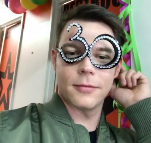 Georg Listing Instagram Story ɪɪ [31.03.2017] - Dirty 30 🎉