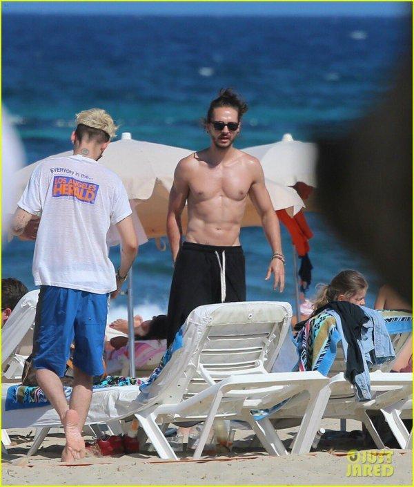 Tom et Bill à la plage le 8 juin 2017