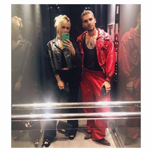 Bill Kaulitz Instagram 1321 [24.06.2017] - ⚫️🔴 in faith connexion for faith connexion tonight