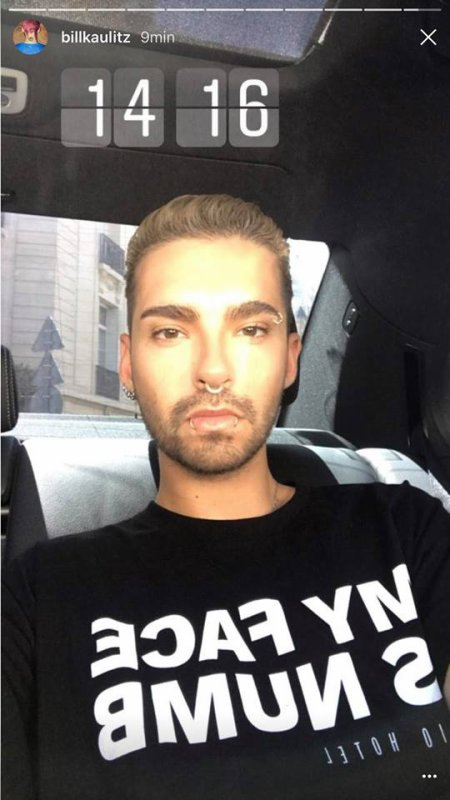 Bill instagram story fashion week Paris le 23 juin 2017