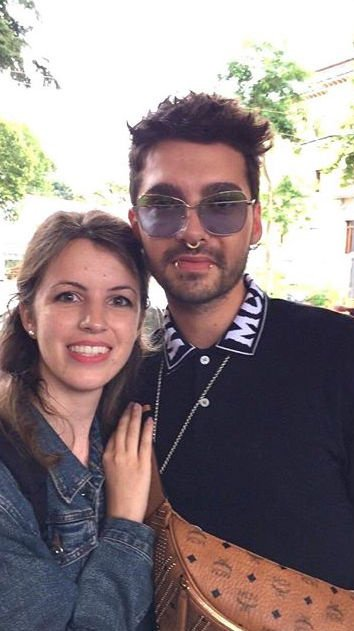 [NEW PICS] Bill Kaulitz with fans in Florence, Italy [13.06.2018]