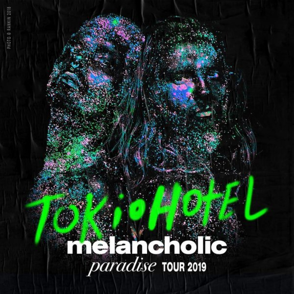 dates de la tournée de tokio hotel en 2019