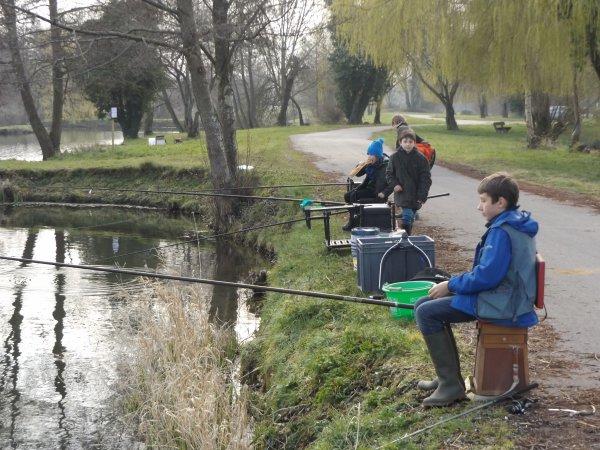 journée pêche aux étangs de st aubin le cauf le samedi 2 avril 2016