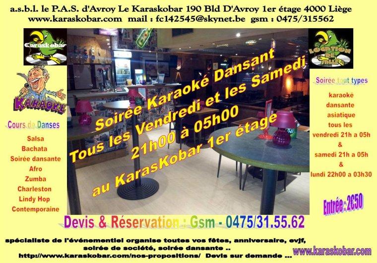 soirée spaghetti party karaoké dansant samedi 30/05/15 a 20h au karaskobar à Liège