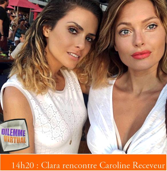 Journée du 24/07/2016 + Photo avec Caroline Receveur + bye bye Jérémy la bitch