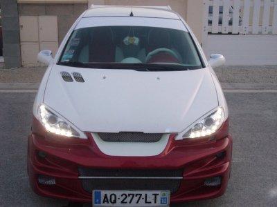206 red & white (a vendre)