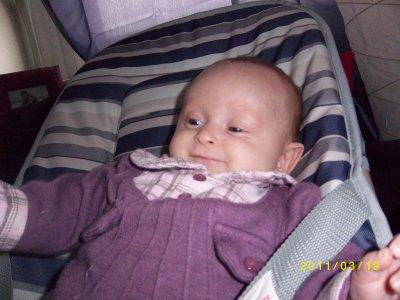 voici notre petite Adenora