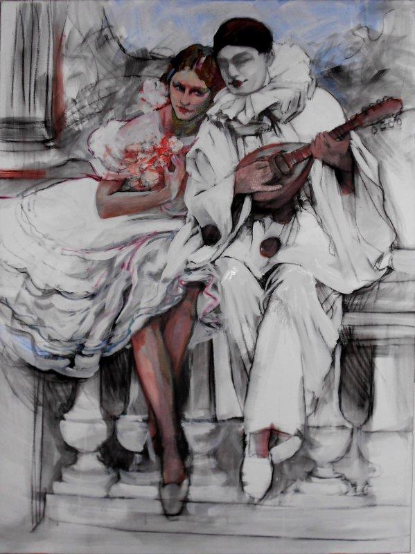 - L'ARLEQUIN ET LA DANSEUSE -  2012