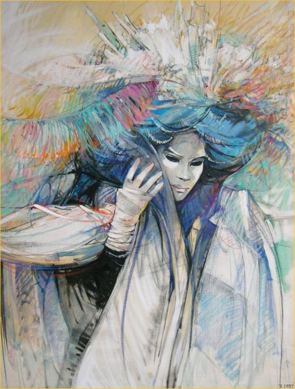 Carnaval de venise toiles dessins - Coloriage carnaval de venise ...