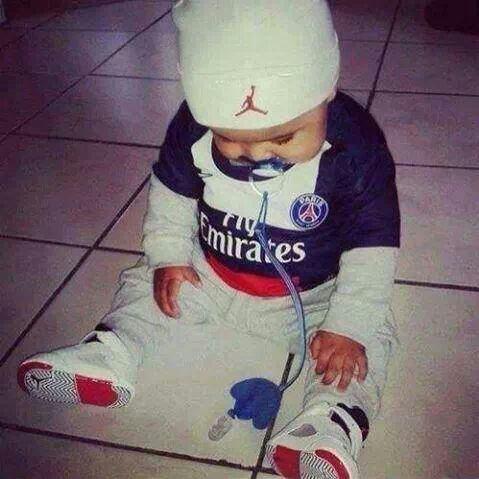Mon fils il sera comme ça #enattendantlematchdupsg