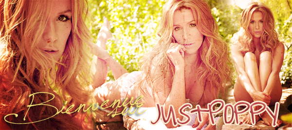 Catégorie > Le Blog JustPoppy  • Welcome On JustPoppy ! • Votre unique source sur Poppy Montgomery !  Le Blog plus Poppy que just'...