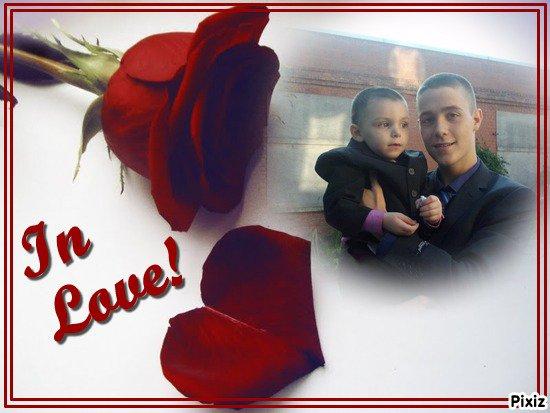 mon cousin alain et mon fils dorian