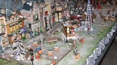 """""""Christmas in my City""""   village 2010"""
