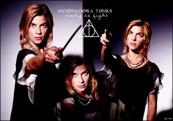 Some creations about Lupin and Tonks