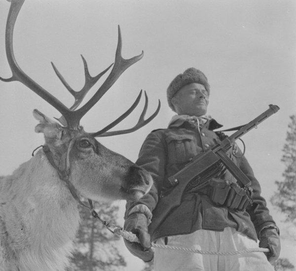 Soldat finlandais