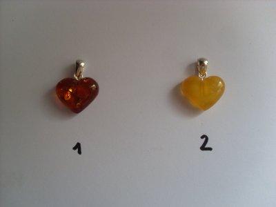 les pendentis à ambre