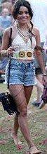 Look de Vanessa aux festivals COACHELLA