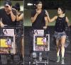 Vaustin dévoilent leur amour à la sortie des courses ,L.A soirée du 30/08/2012 (date US)