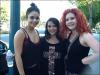 Vanessa est de retour a LA ,preuve avec cette photo prise avec des fans qui ont la chance de faire du sport avec la belle