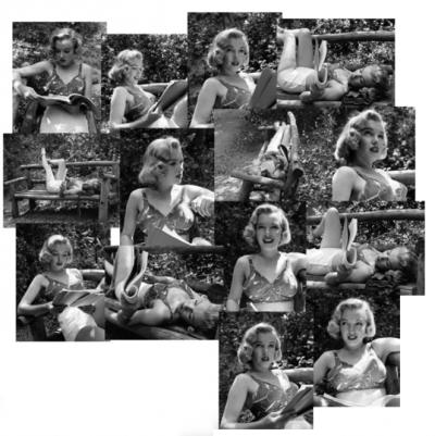 planche du photographe Ed Clark pour LIFE