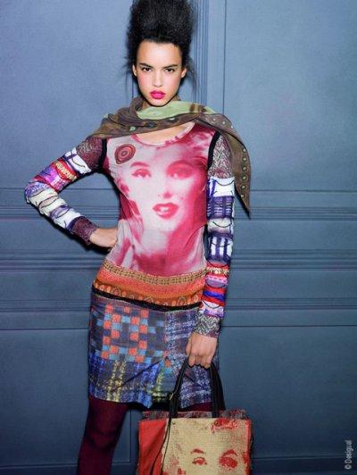 Marilyn par Christian Lacroix pour la marque espagnol Desigual
