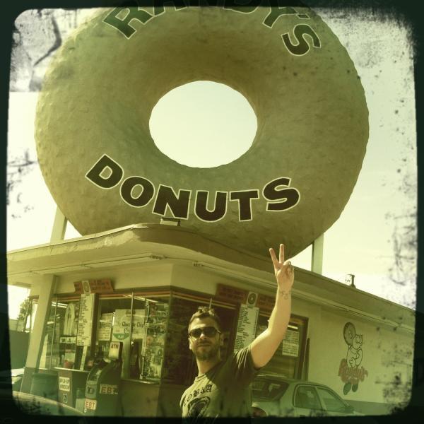 Un coucou de Los Angeles ! - Twitter officiel de Christophe