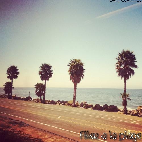 1 : Aller à la plage.