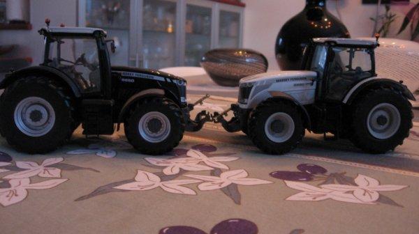 MF noir 8650 et blanc 8690