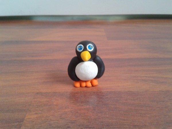 Apprendre faire un pingouin en p te polym re blog de bijoutex - Apprendre a dessiner un pingouin ...