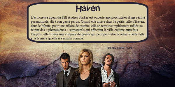 Haven ♥ Les Mystères de Haven ♥